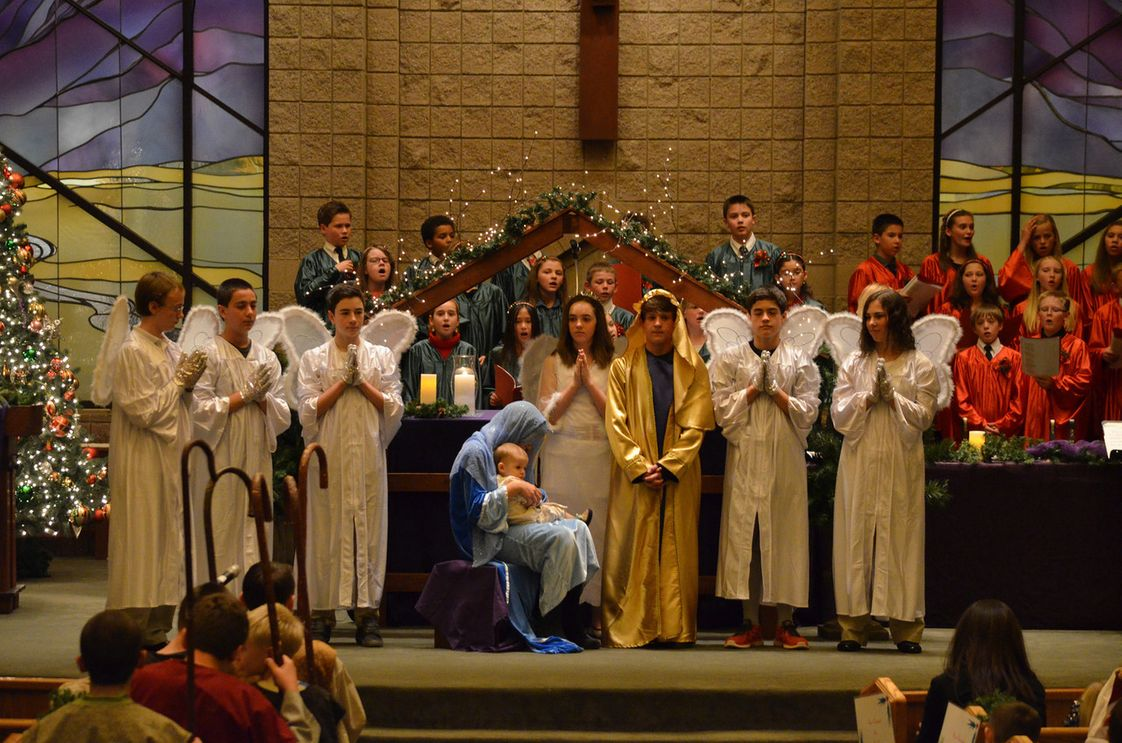 St Teresa Of Availa Catholic School Photo #1 - Christmas Pageant