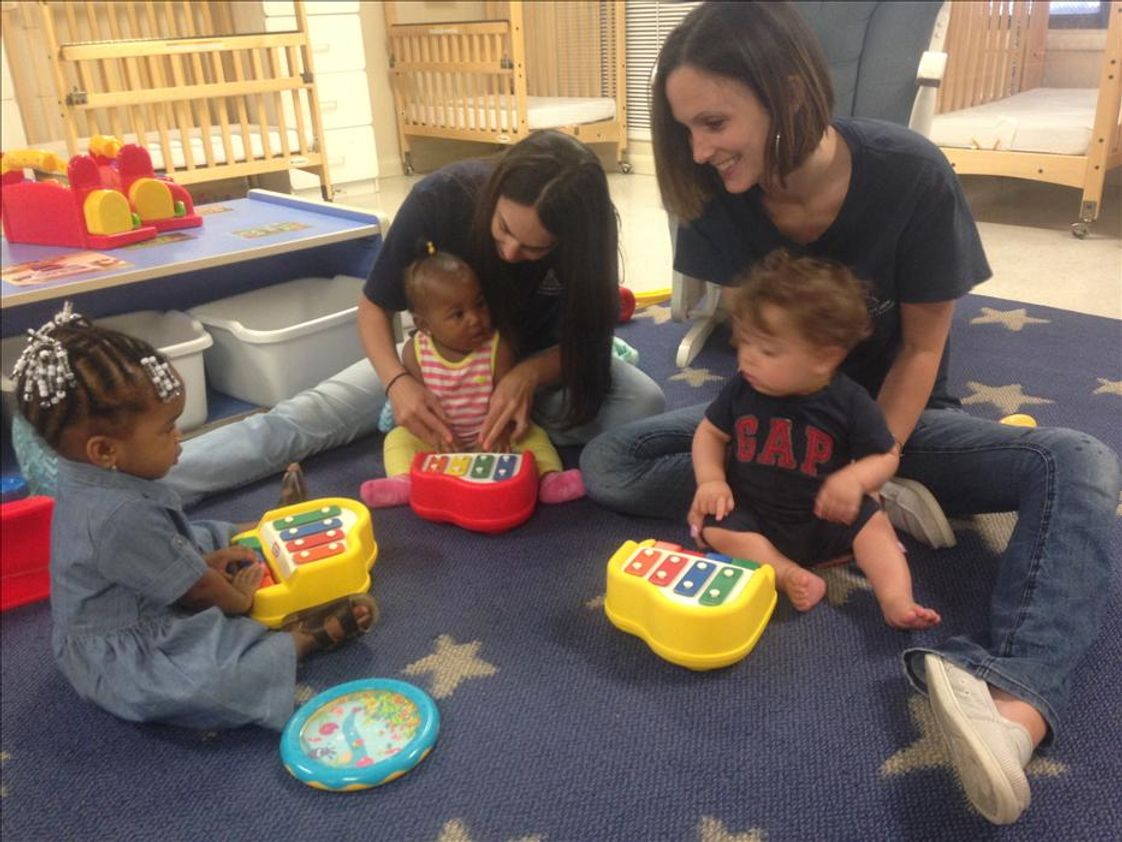 Sewell KinderCare Photo #1 - Ms. Tracy and Ms. Kris in the infant room for music Monday