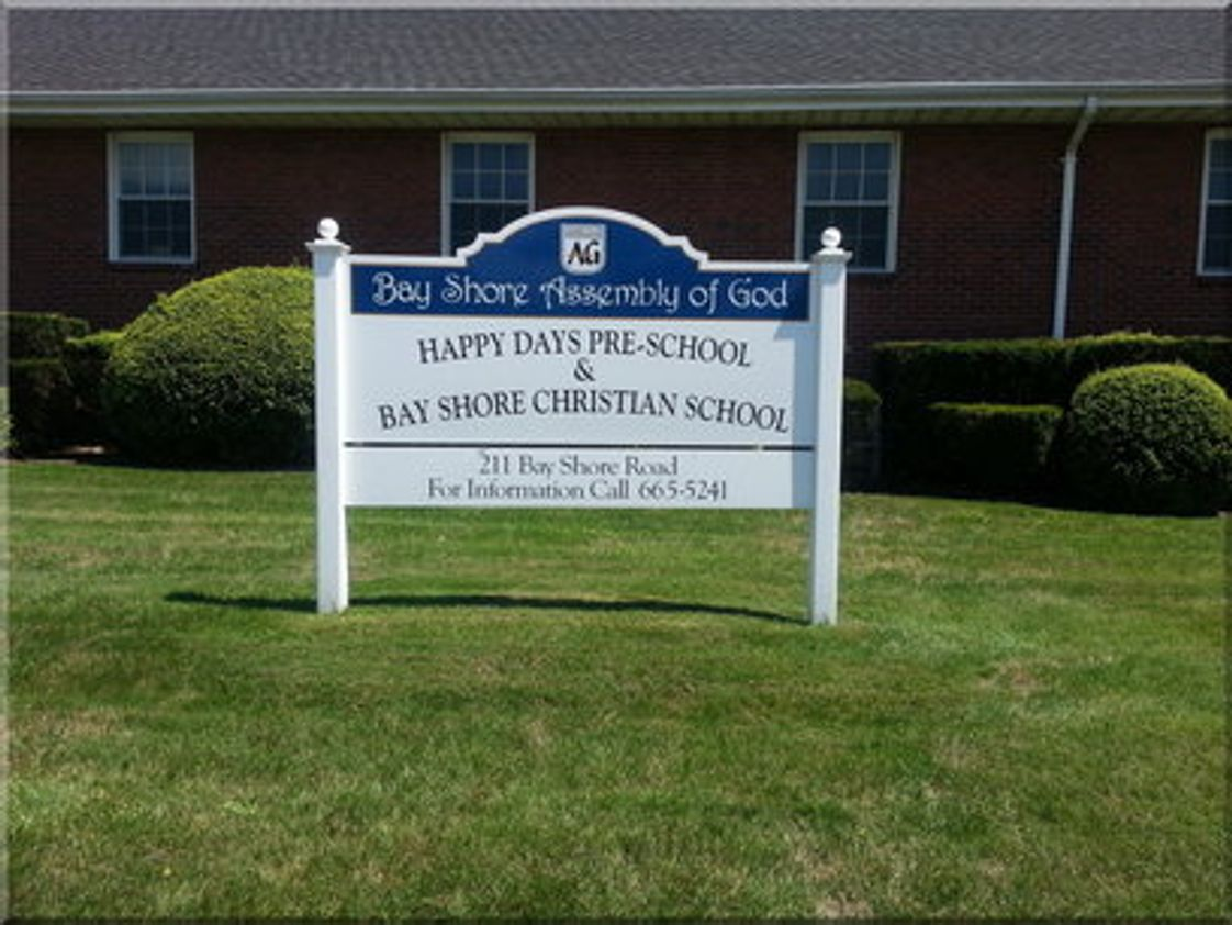 Bay Shore Christian School Photo - Bay Shore Assembly of God Church Bay Shore Christian School/Happy Days Preschool