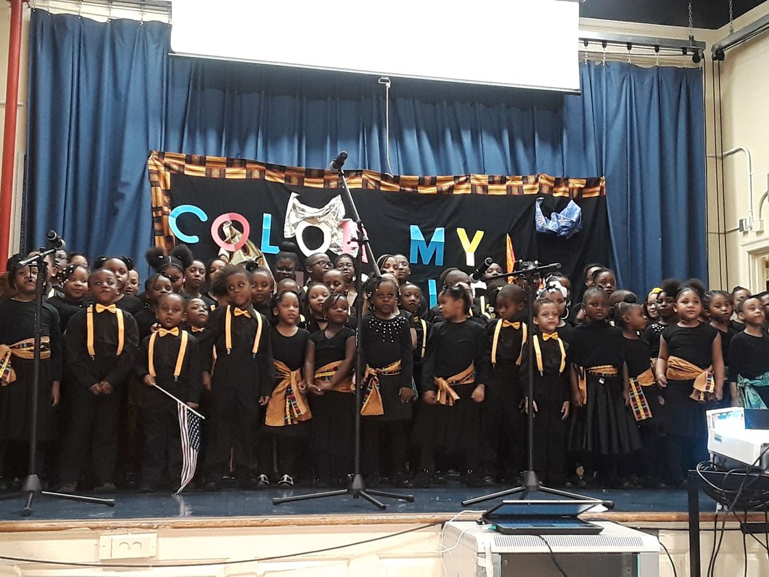 Great Oaks Elementary School Photo #1 - Black History Concert
