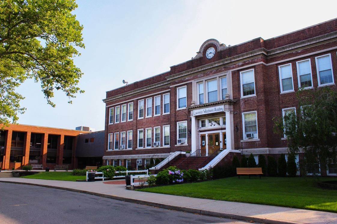 "Lawrence Woodmere Academy Photo - Lawrence Woodmere Academy (LWA""), founded in 1912, is an elite Pre-K through 12, non-sectarian, private, College Preparatory School located in Woodmere, NY."