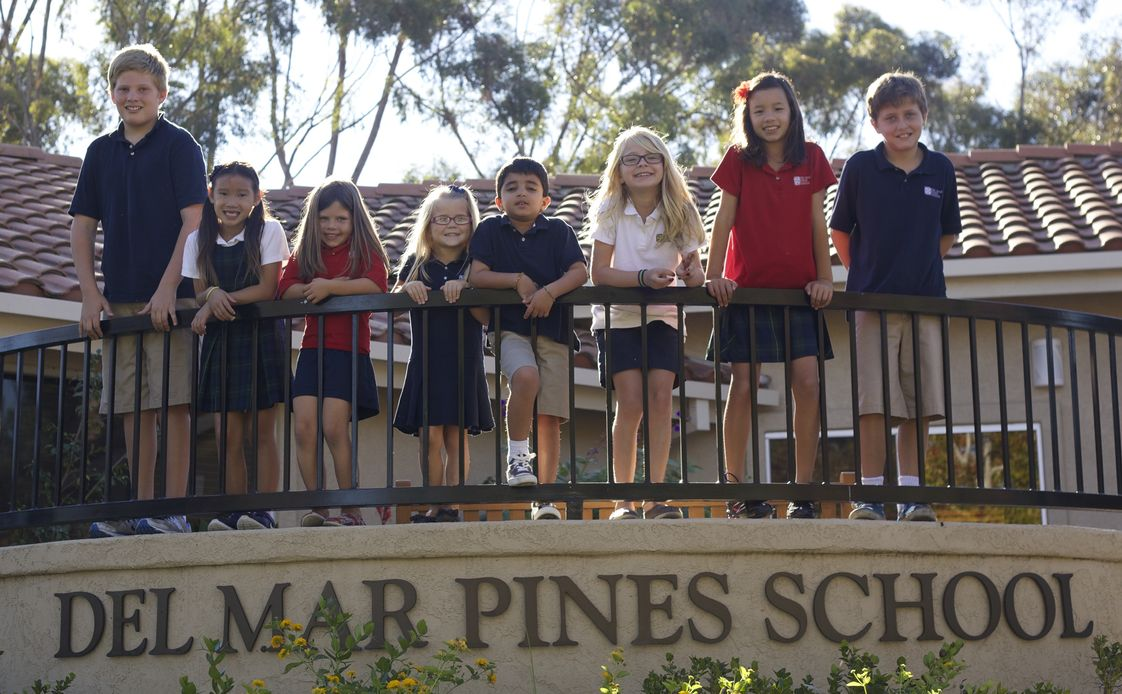 Del Mar Pines School Photo #1 - Del Mar Pines School is a small private elementary school in San Diego CA. celebrating 37 years of excellence. We offer small group instruction with individualized attention for each student. Standard weekly instruction in Spanish, art, music, PE, technology and hands-on science.