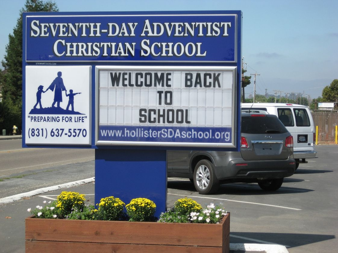 Hollister SDA Christian School Photo - Welcome Back!
