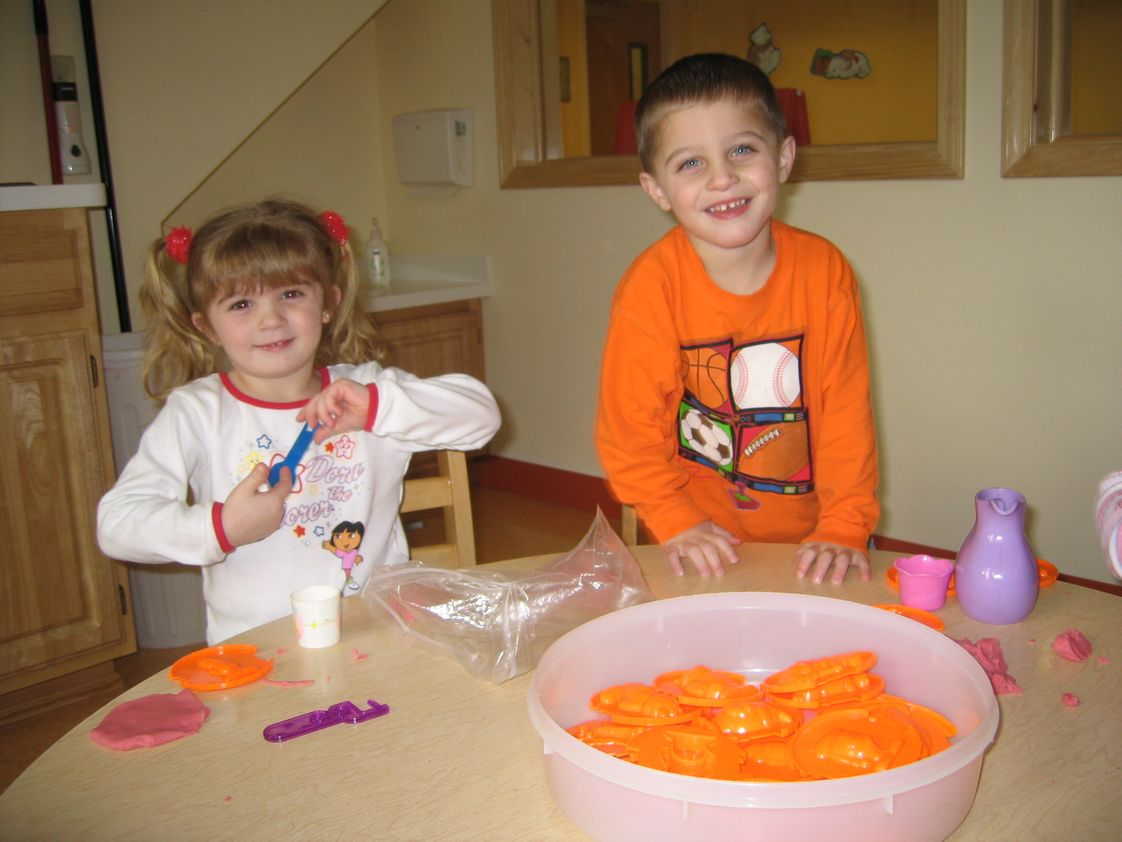 Seed Day Care Center (The) Photo #1 - Playing with playdough