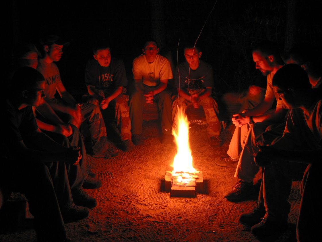 Cameron Boy's Camp School Photo #1 - Reflection is an important part of camp. We end every day around a campfire celebrating our successes and planning for the next day.