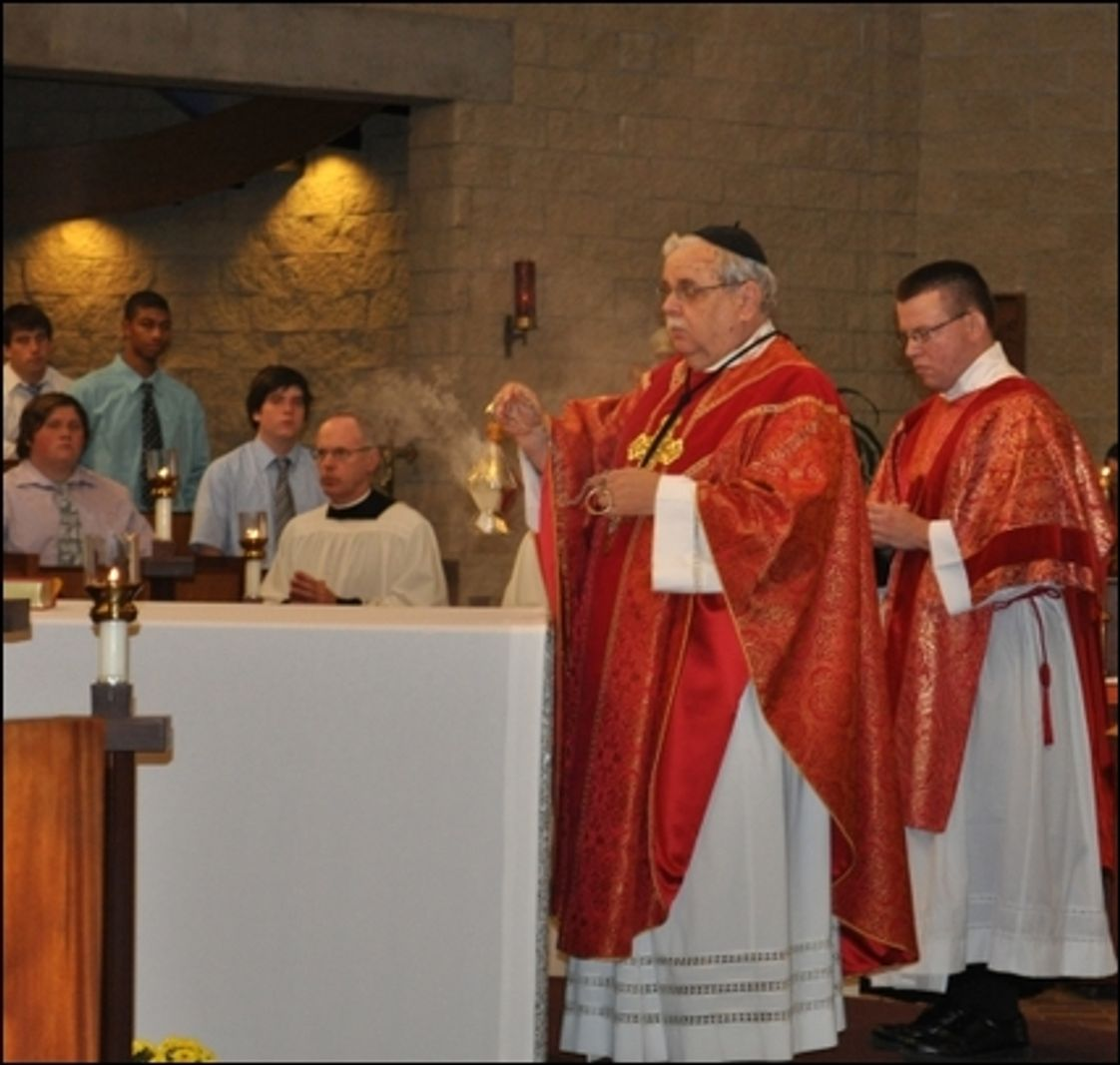 Benedictine High School Photo #1 - Opening School Mass