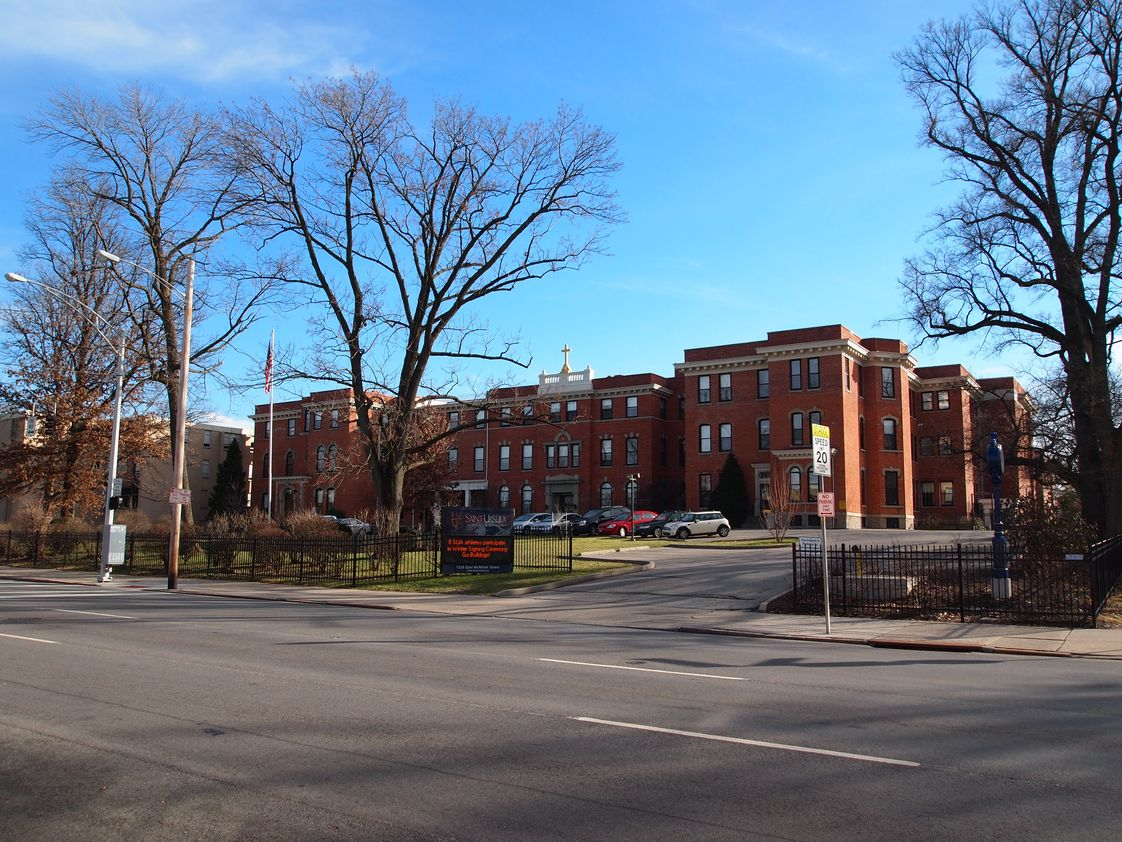 Saint Ursula Academy Photo - Established in 1910, Saint Ursula Academy has maintained a reputation and high standard of academic excellence since day one. It is a top choice for girls in Greater Cincinnati as enter high school.