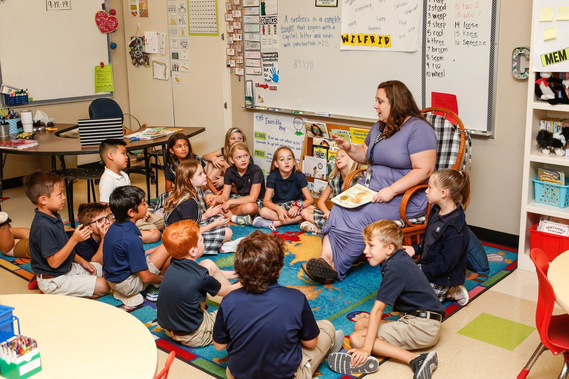 Casady School Photo - Casady School includes four divisions: Primary for Pre-K, Lower for grades 1-4, Middle for grades 5-8, and Upper for grades 9-12.