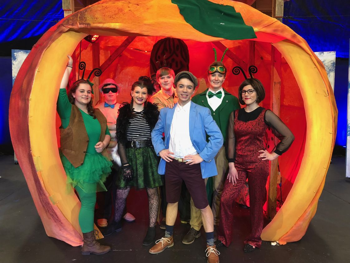 Johnstown Christian School Photo #1 - James and the Giant Peach was invited to the Issac Awards (recognizing excellence in HS Musical Theatre). J&GP was nominated for Best Overall Production, along with 5 other awards in 2019.