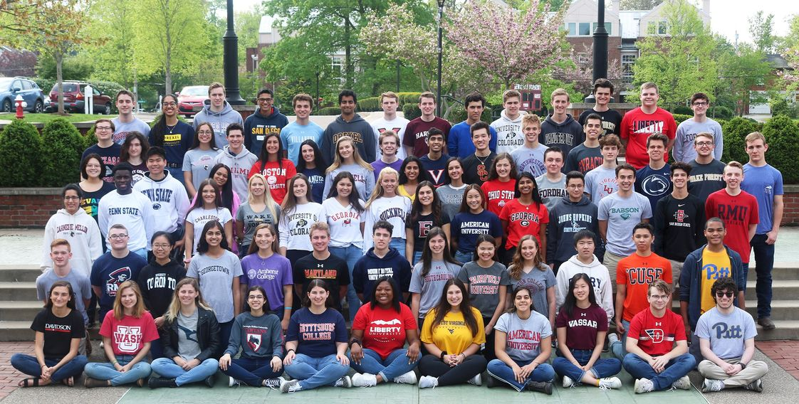Sewickley Academy Photo - 92% of the Class of 2019 was admitted to a top-choice college or university and 47% of the class was admitted to a school with an acceptance rate of 30% or lower.