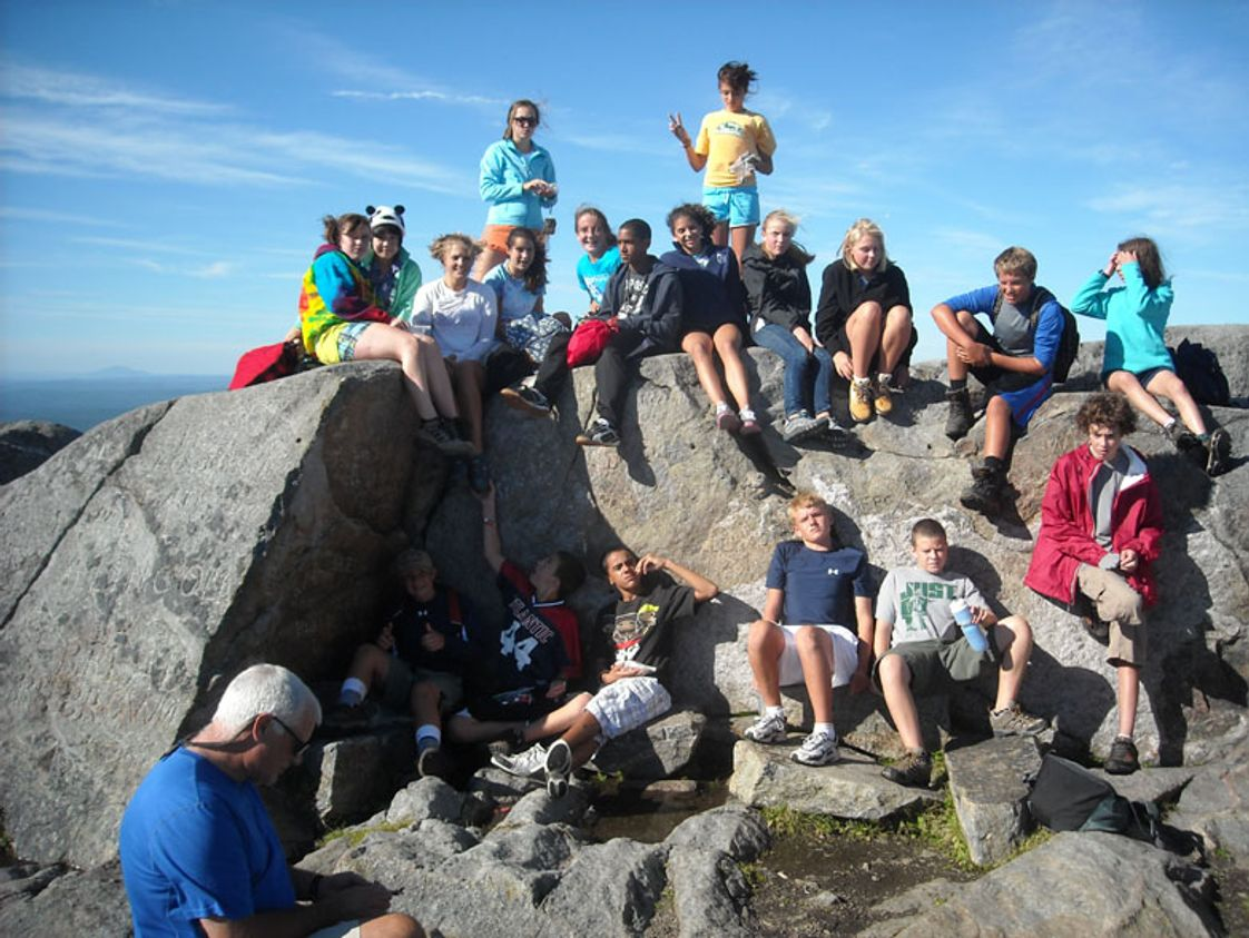 Rocky Hill School Photo - Middle School students take part in Enviroweek the first week of each school year which includes an Eighth Grade camping trip to Mt. Monadnock. The lessons learned and relationships built during this time lay the foundation for a great year.