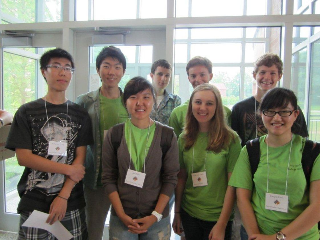 Bishop England High School Photo - Clemson Calculus Challenge Team 2012