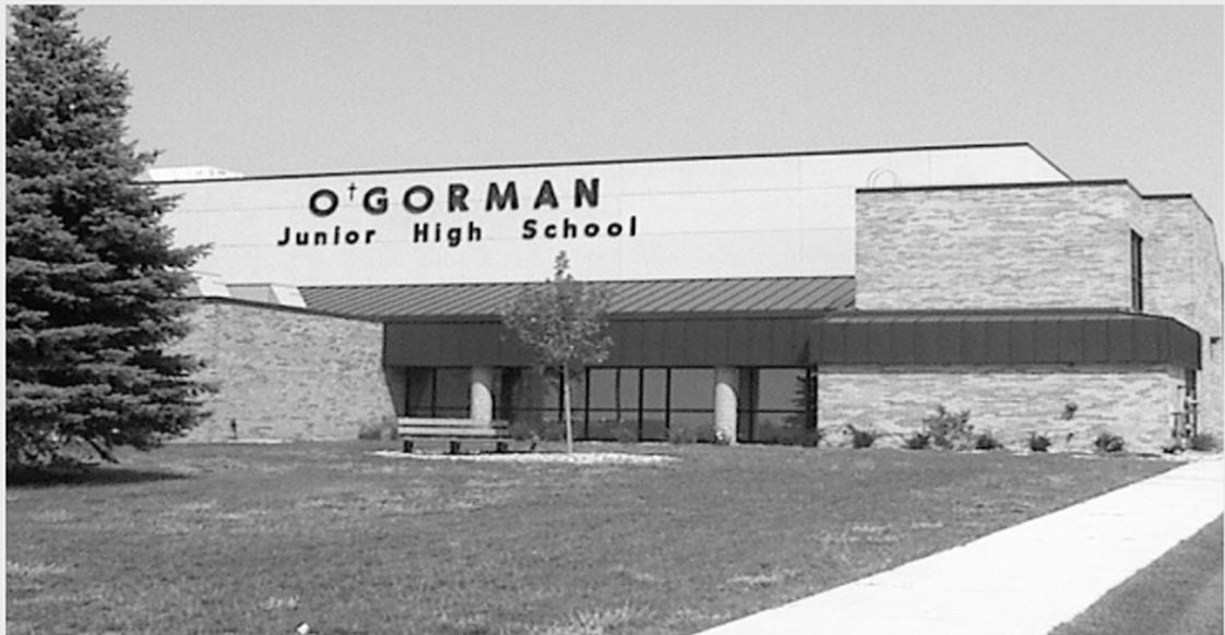O'Gorman Junior High School Photo - Front of school