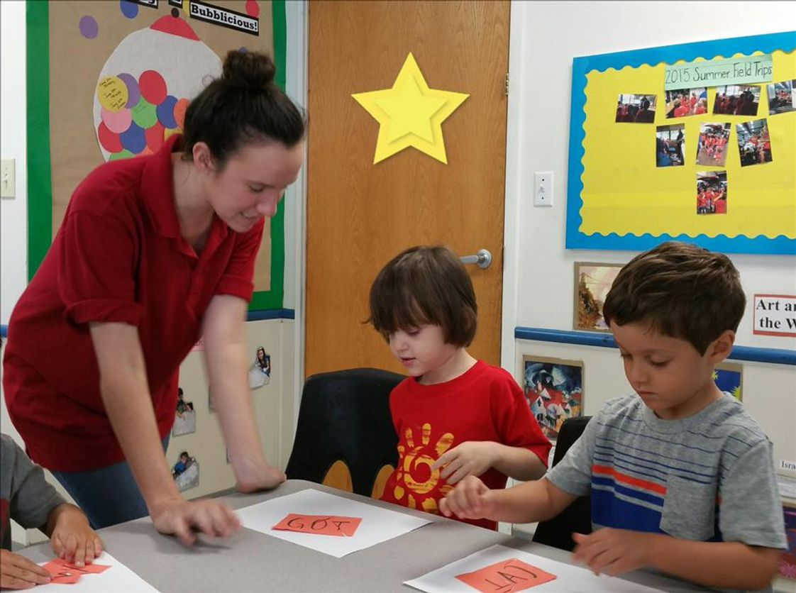 Pinebrook KinderCare Photo #1 - Phonics with Ms. Kaylee.