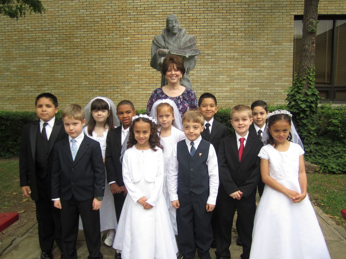 St Bernard Of Clairvaux School Photo #1 - First Holy Communion, 2012