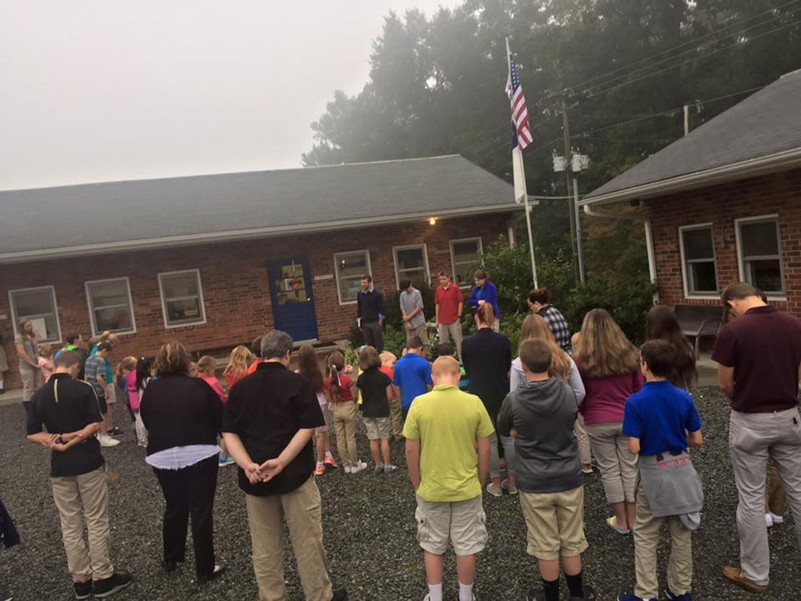 "Piedmont Christian School Photo - ""See You at the Pole"""