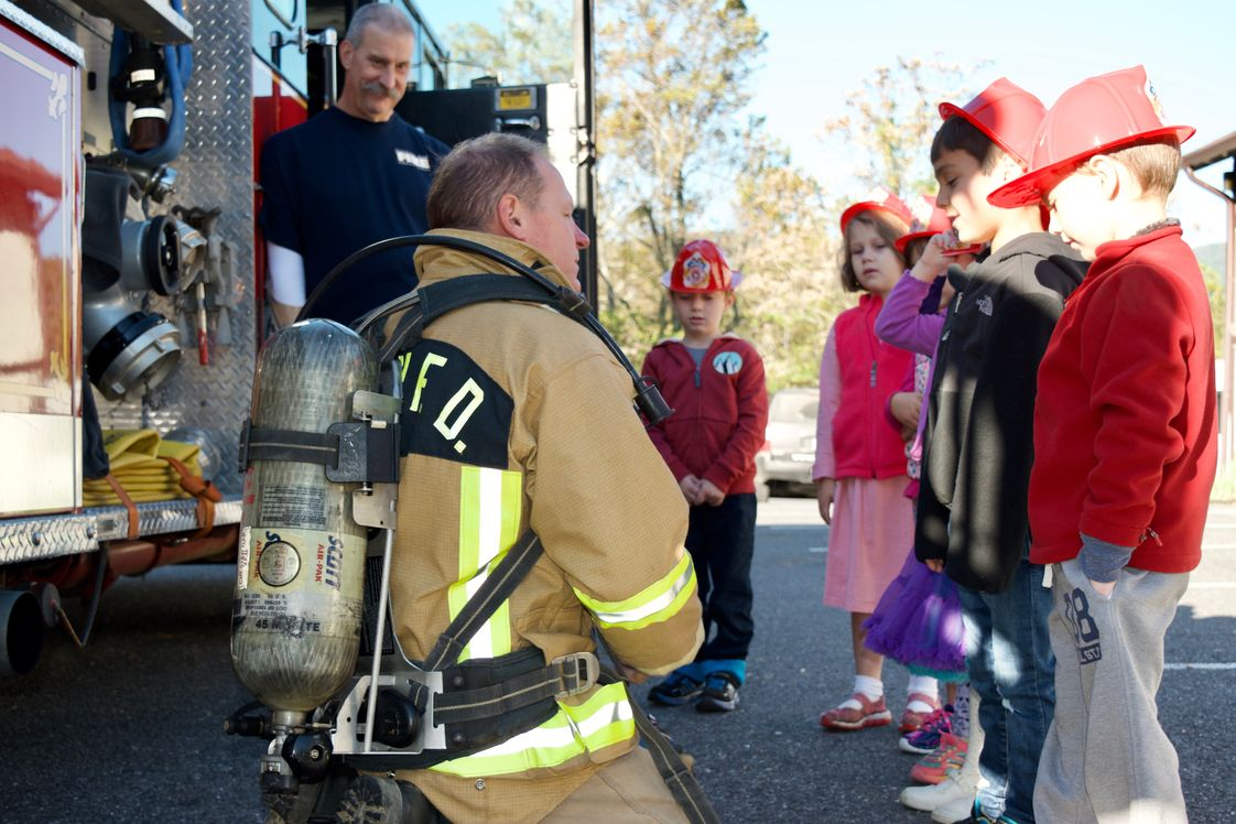 Wakefield Country Day School Photo #1 - By meeting our volunteer first-responders, our youngest students learn to be responsible citizens and to appreciate those who help others.