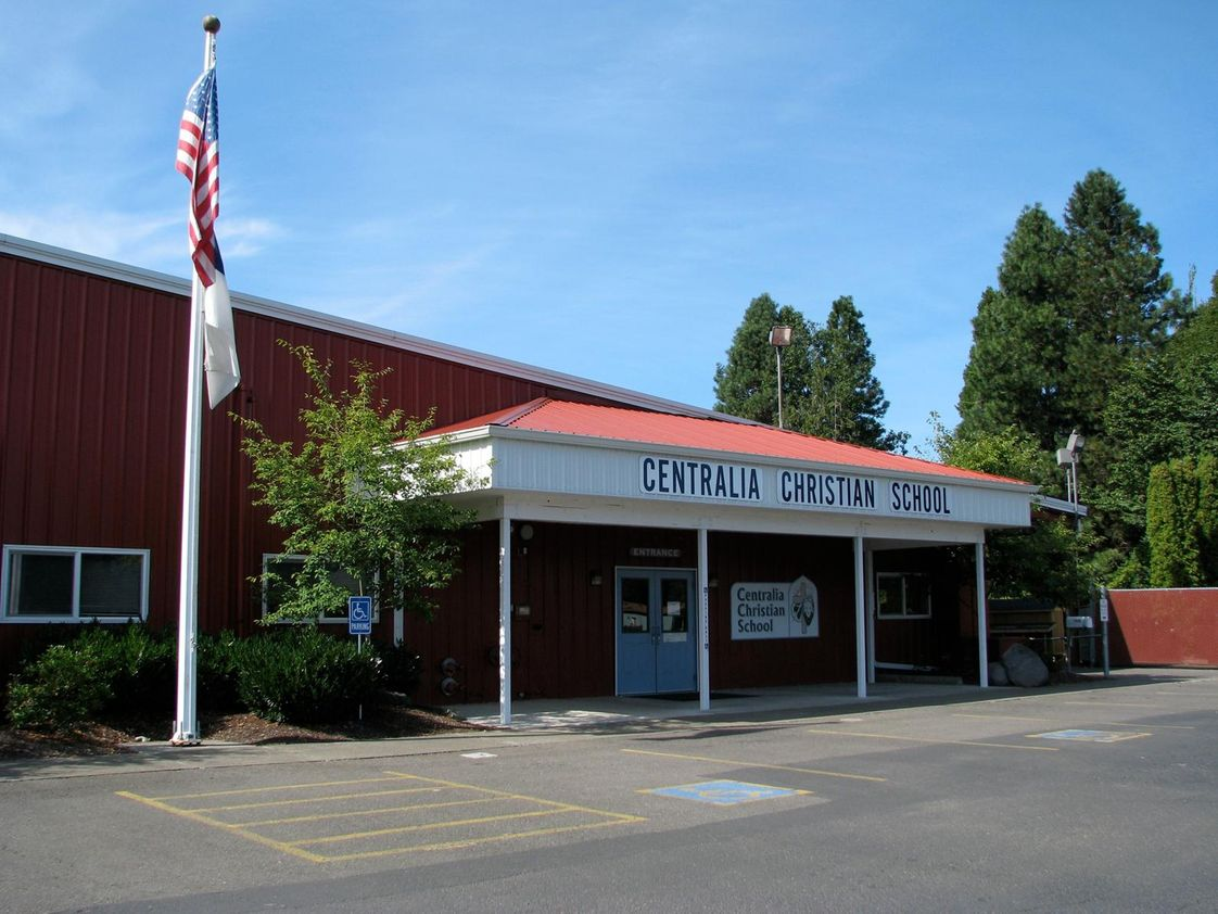 Centralia Christian School Photo - Centralia Christian School teaches Preschool through 10th grade students. We seek to encourage students' personal relationship with Jesus Christ and challenge them with academic excellence, Christian values and service to others.