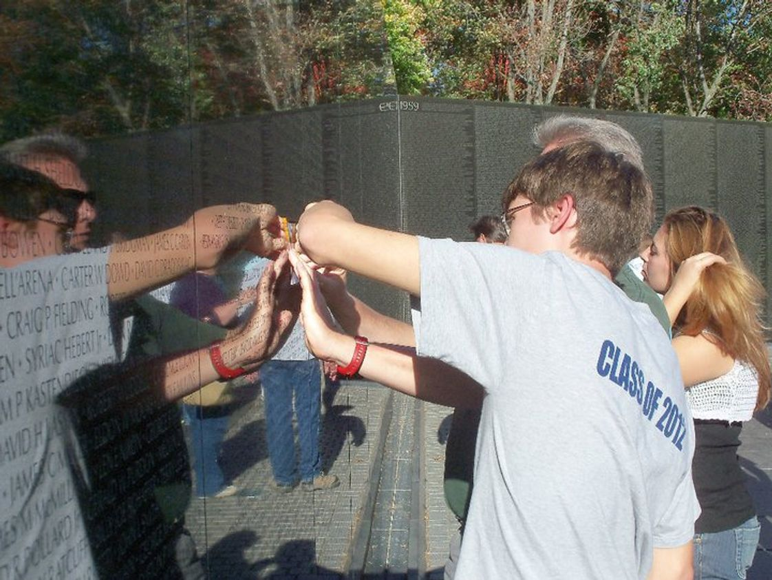 Seneca Trail Christian Academy Photo #1 - At the Viet Nam Wall
