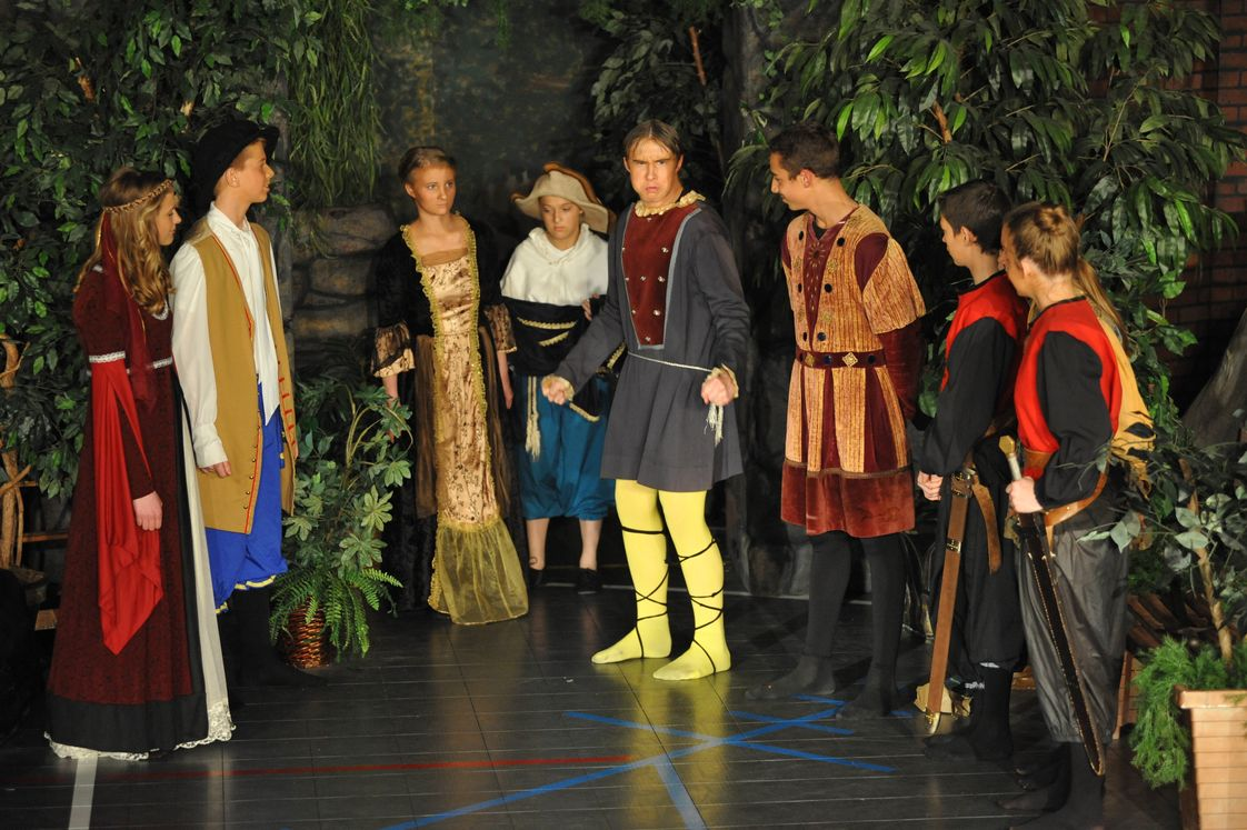 Bay City Christian School Photo - Middle School and High School performance of Shakespeare's Twelfth Night