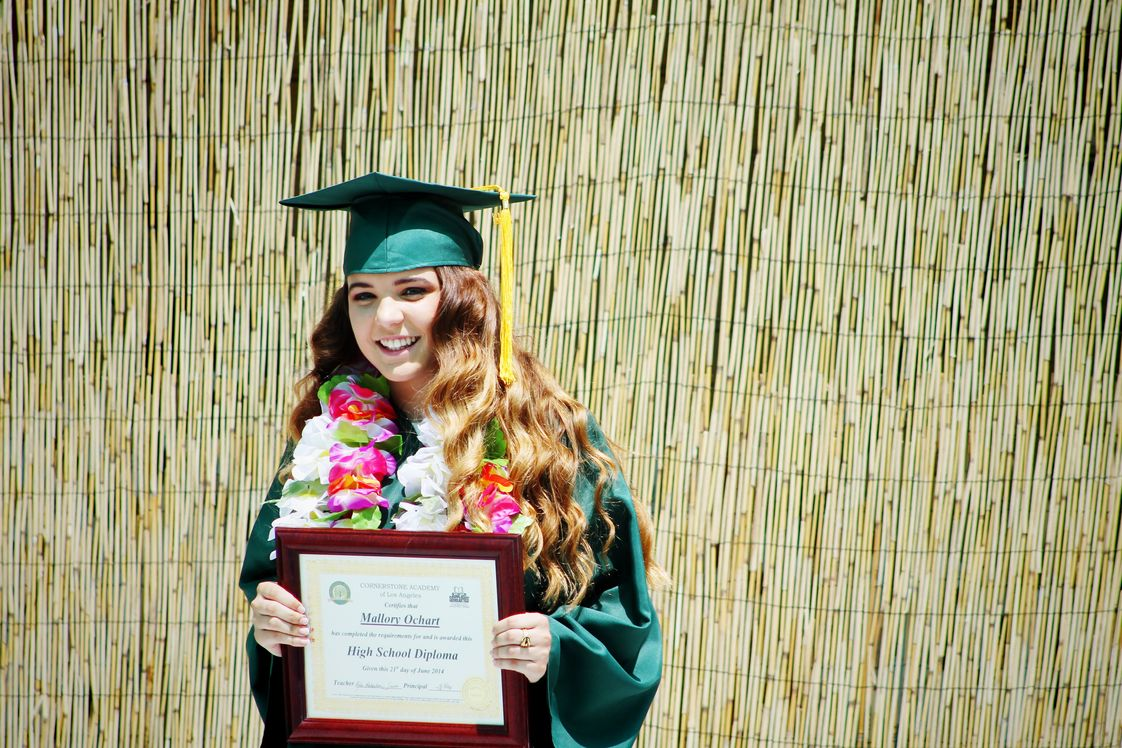Kids World School/Cornerstone Academy Photo #1 - One of our recent High School graduates!