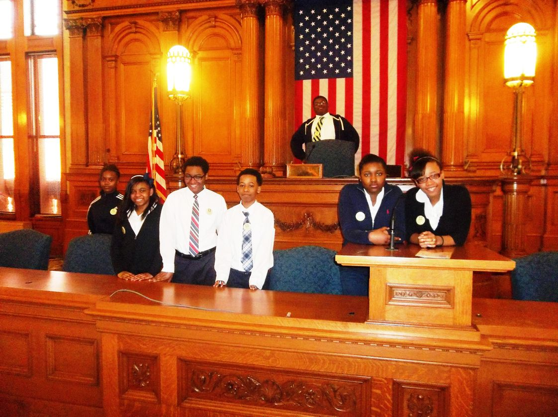 Garden Homes Lutheran School Photo #1 - Our student council--The G-House of Representatives--works with students, staff, and school administration to make the school better.