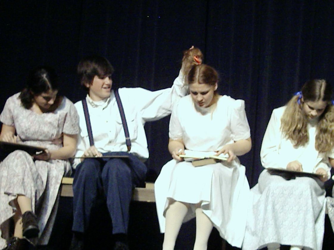 Valley Christian School Photo - Our drama class is for credit.