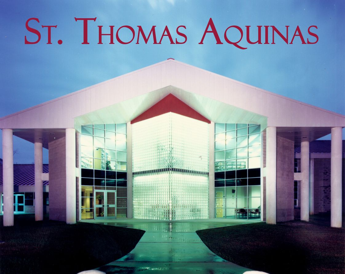 St. Thomas Aquinas Regional Catholic High School Photo - Saint Thomas Aquinas Regional Catholic High School is a diocesan, co-educational school shaped by Christ-centered values and the Dominican tradition of Truth. Our Mission is to teach Gospel values in an environment of academic excellence that fosters the development of the whole person in a Catholic-Christian community.