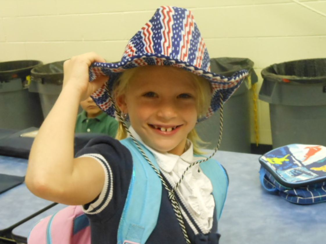 Liberty Baptist Academy Photo - Crazy hat day