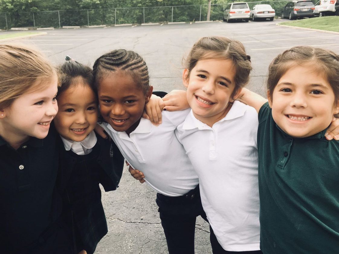 Whitefield Academy Photo #1 - Because we are a Pre-K to 12th school, friendships that are formed on the playground in first grade last through senior year and beyond.
