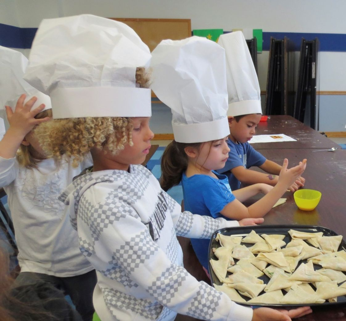 French American Academy of New Milford Photo - Learning in cooking !