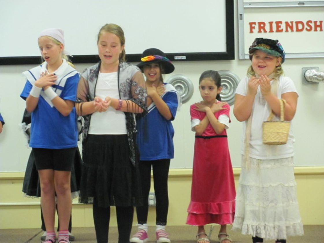 "Trinity Christian School Photo - Students perform ""The Sound of Music"" as part of an after-school enrichment program."