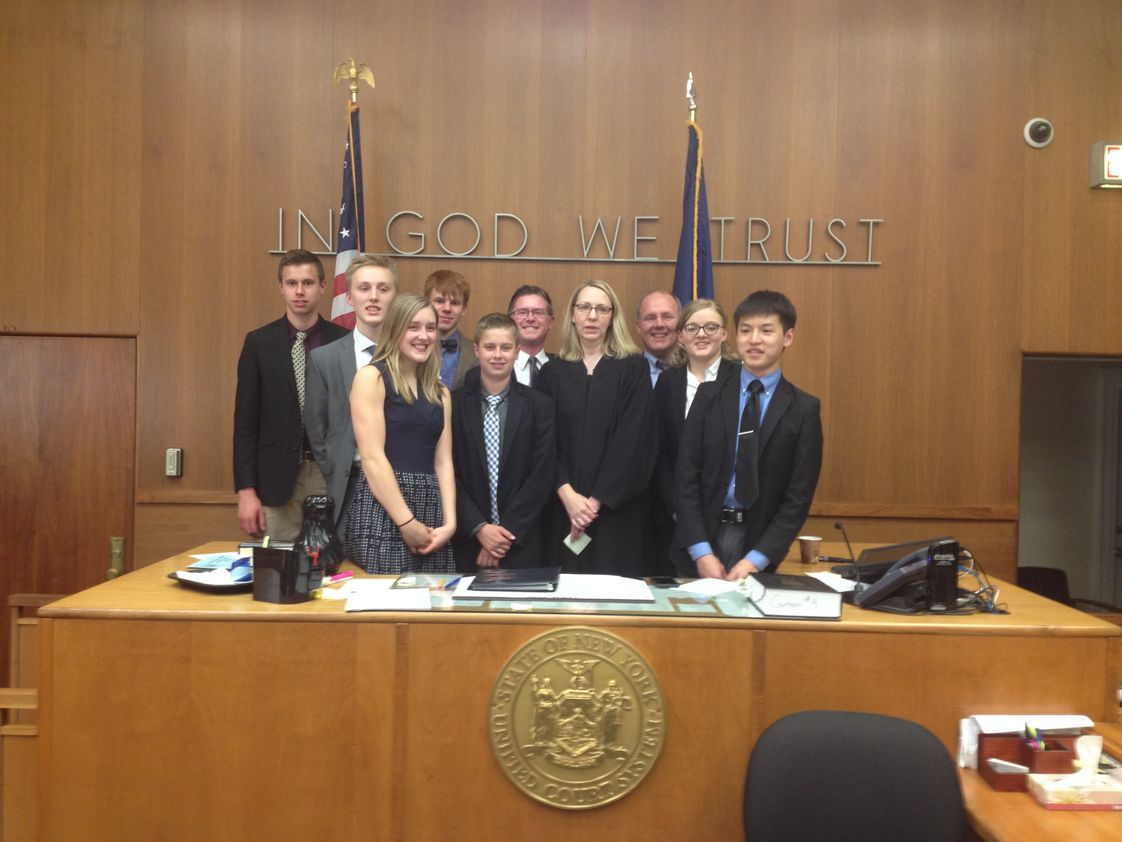 Augustine Classical Academy Photo - Our Mock Trial team has one two county championships in its four year history and in 2016, after winning Saratoga county, they swept the regional championship and advanced to the State Final where they finished 5th in the State.