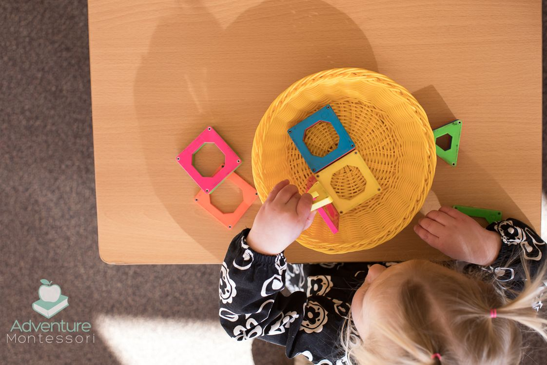 Adventure Montessori Learning Photo #1 - Each Montessori caregiver is attentive to the individual needs of each infant and is highly trained in observation skills and child development. Our nido room is also a parent community, in that parents are supported and offered parenting techniques and education. Breast feeding rooms are available for feeding or just for snuggling during those opportune times of the day. Our caregivers support and work with your whole family.