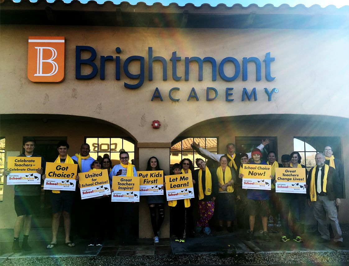 Brightmont Academy - Scottsdale Photo #1 - Brightmont students and staff celebrate School Choice Week!