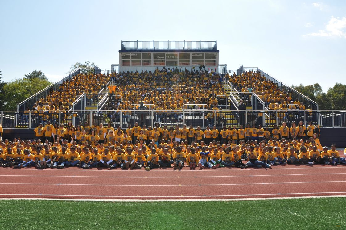 Riverdale Baptist School Photo - CRUSADER NATION! The entire student body together for a group photo during Spirit Week in 2012.