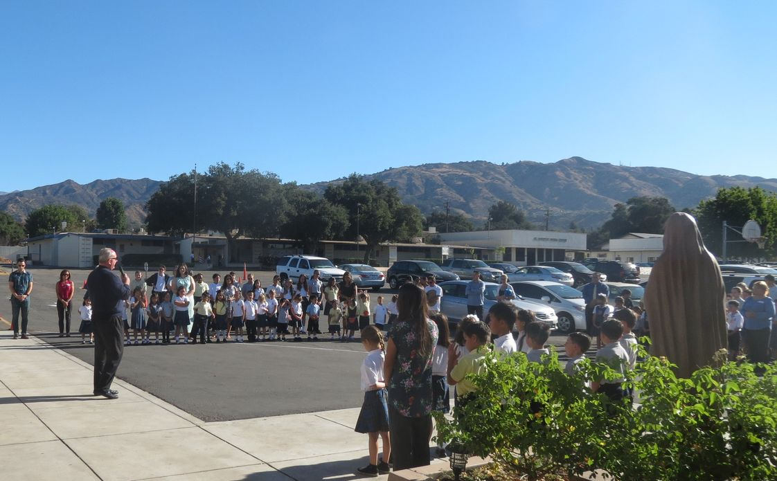 St. Dorothy Elementary School Photo - At St. Dorothy School we study or academics and faith under the shadows of the beautiful San Gabriel Foothills.
