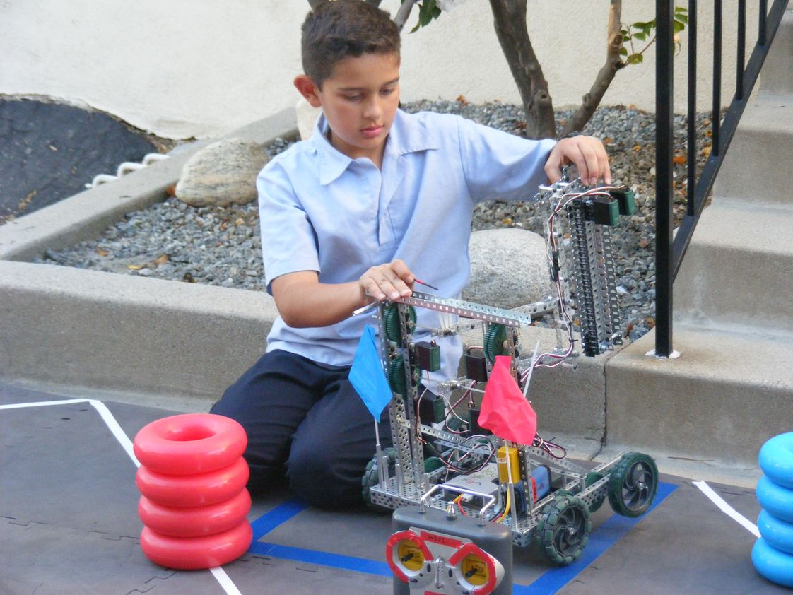 St. Luke Catholic School Photo - Robotics Team Member