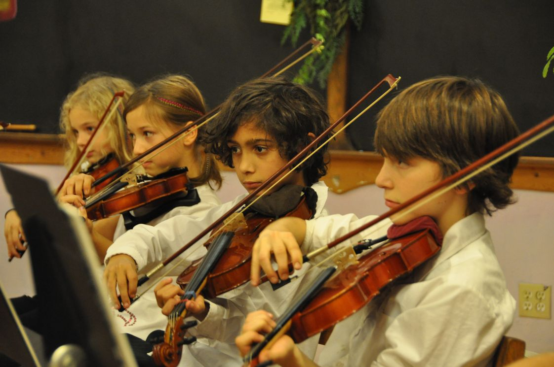 The Waldorf School Of Mendocino County Photo - Music and other arts are an integral part of a Waldorf education.