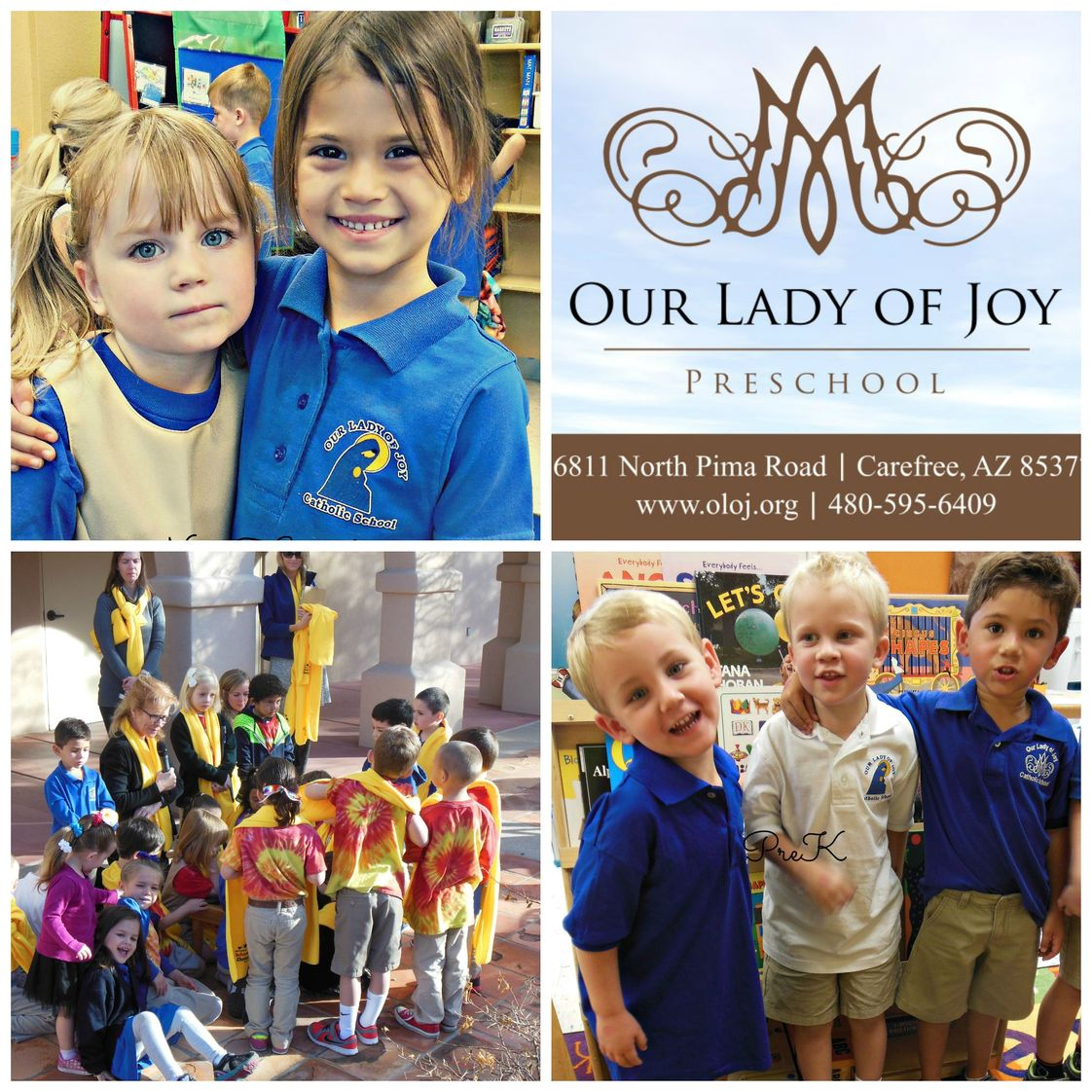 Our Lady Of Joy Photo - Our Lady of Joy Catholic Preschool is a faith filled school community driven by academic excellence. We are regarded as the top preschool in the North Valley area.