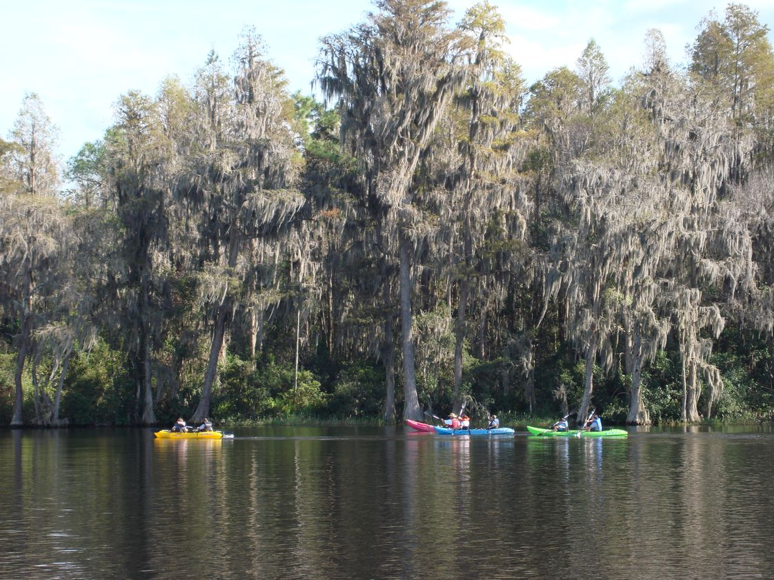 Odessa Christian School Photo #1 - Kayaking during PE