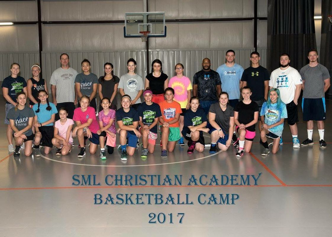 Smith Mountain Lake Christian Academy Photo - Girls Basketball photo from day two of our first camp ever.