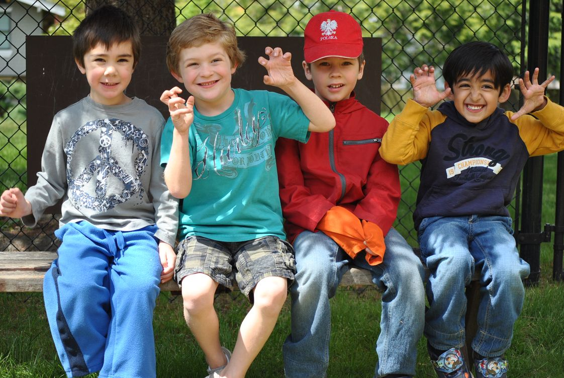 The Eastside Montessori School Photo #1 - Socializing and friendships are the foundation for a happy and successful school life.