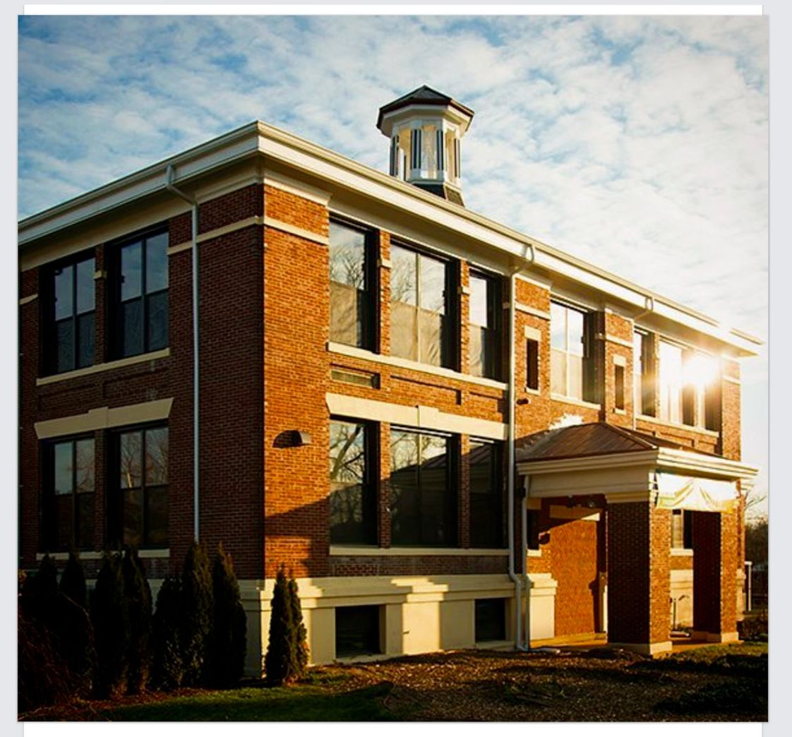 Voyagers' Community School Photo - Our new location, once the Fred Steelman School, in Eatontown, NJ, was built in 1908 and renovated to suit our needs in 2015. Fashioned like a NYC loft, the rooms are spaceous with natural light flooding in, exposed brick and rafters and original wood floors. A warm and welcoming aesthetic is essential to learning. We have just the place.