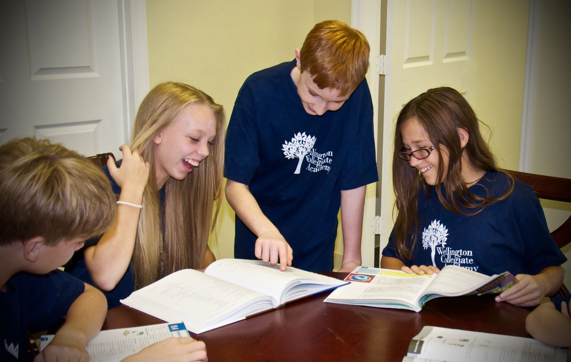 Wellington Collegiate Academy Photo #1 - Our unique, interdisciplinary curriculum improves comprehension and creates self-learners.
