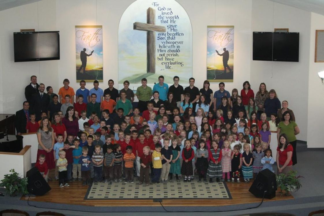 Elmwood Baptist Academy Photo - A picture of the entire school.