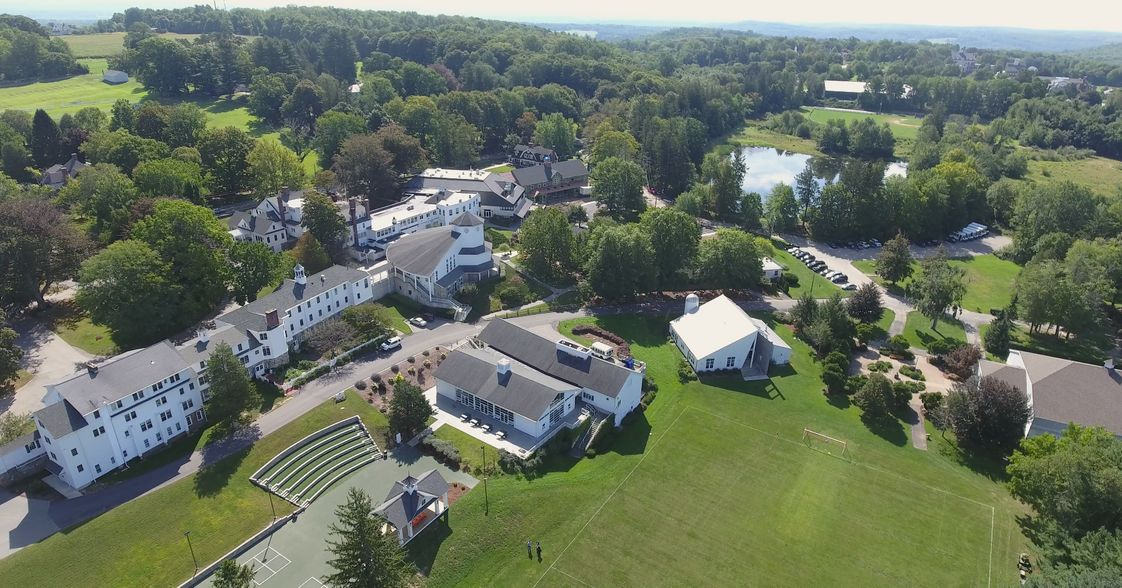 Rectory School Photo - Rectory's 138-acre campus, located in beautiful Pomfret, CT is located within 45-minutes of three major cities (Hartford, CT, Worcester, MA, Providence, RI), 1 1/2 hours from Boston, and 3 hours from New York City. Our campus has 25 buildings, including 11 dormitories, the Bigelow Academic Center and the Hale elementary space and Smith Learning Center, opening in 2017.