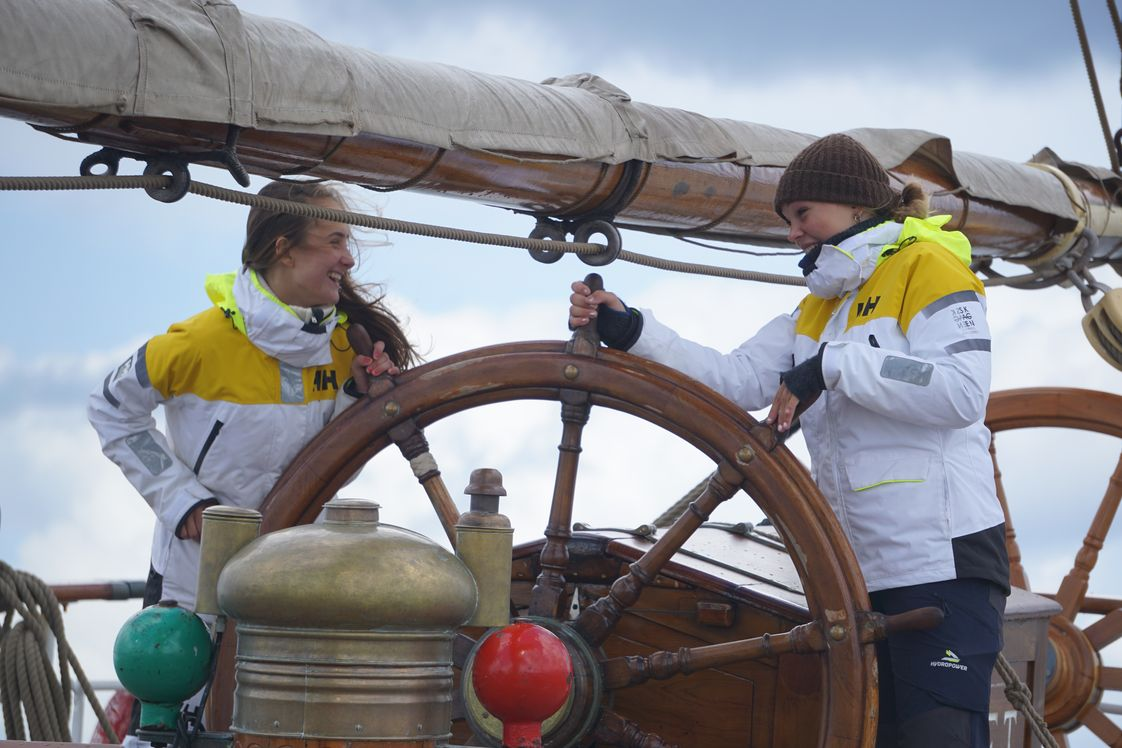 A+ World Academy Photo - A+ World Academy students at the helm steering our ship to a new port!
