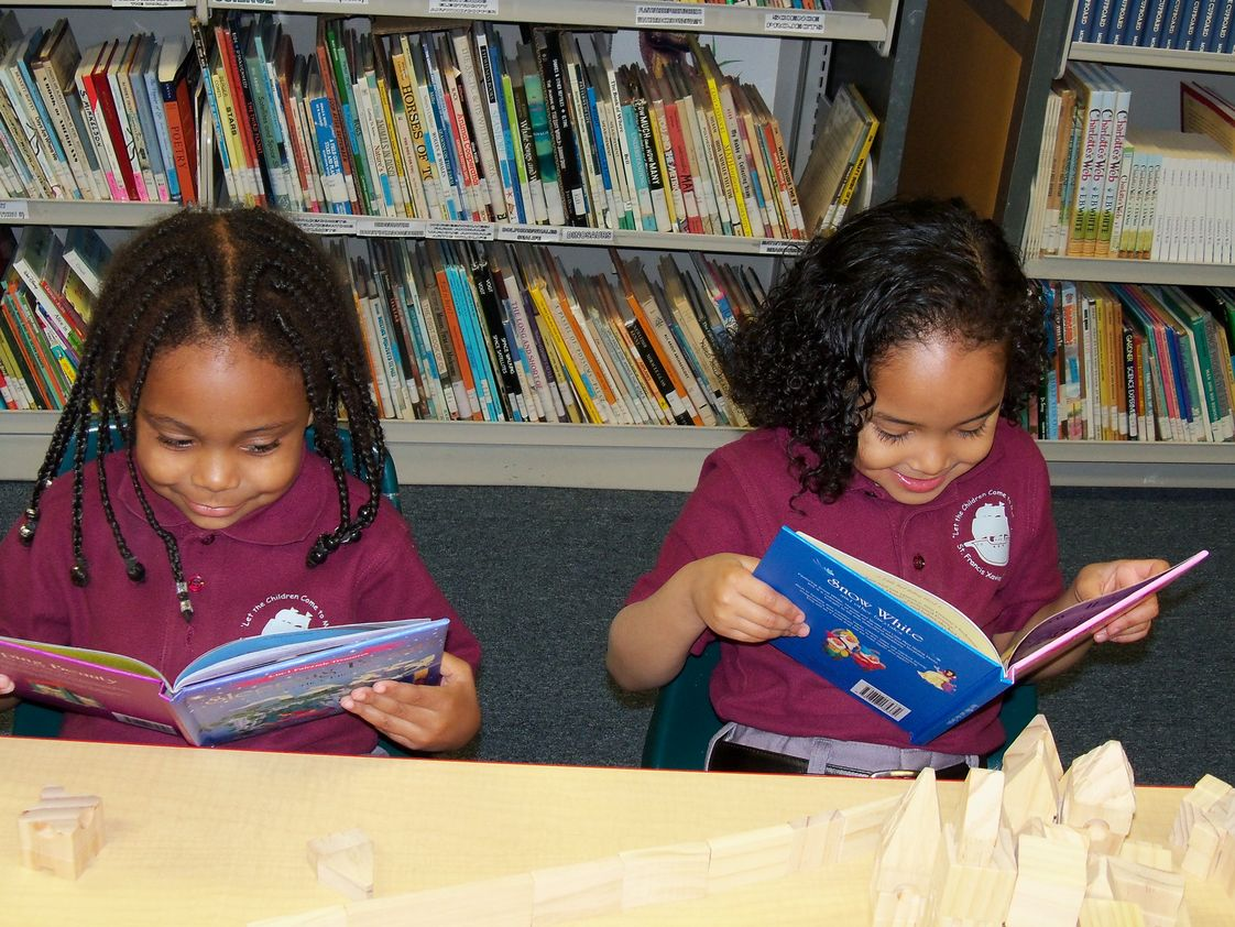 St Francis Xavier Catholic Academyool Photo - Our literacy program that starts with 3- and 4-year old children