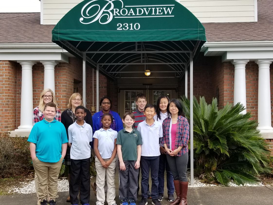 Blessed Star Montessori Christian School Photo - Interactive Companionship Program Launch at Broadview Assisted Living Facility.